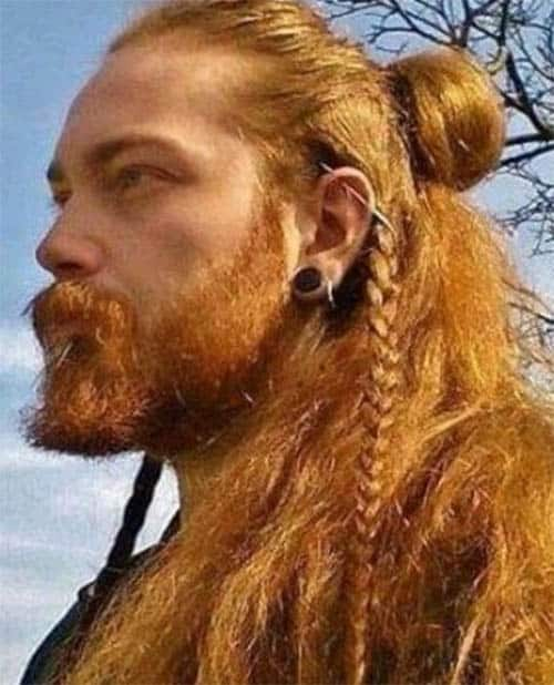 Viking Hairstyles for Redheads - best Viking Hairstyles