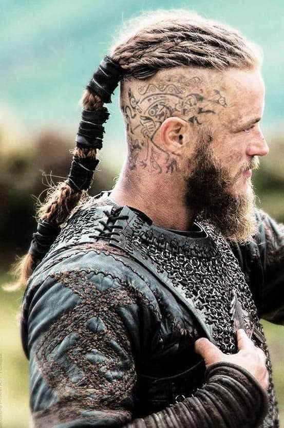 Viking Hairstyles with Tattoos - best Viking Hairstyles