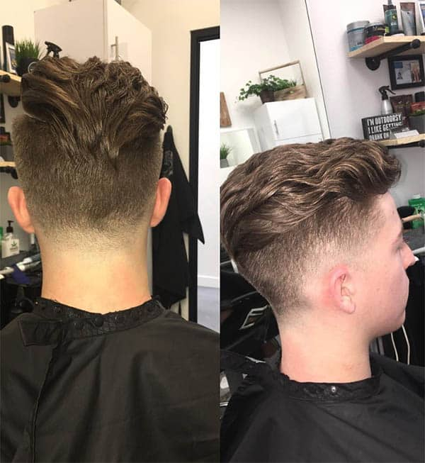 Wavy Low Fade - Men's Long Hair With Undercut Hairstyles