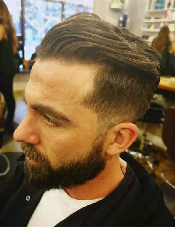 Wavy - Men's Long Hair With Undercut Hairstyles