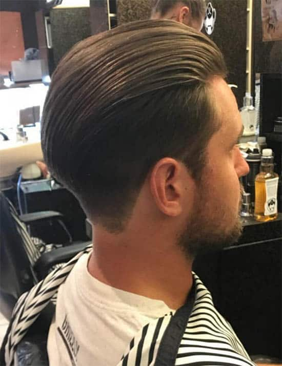 Wavy Slick Back - Long Haircuts For Men