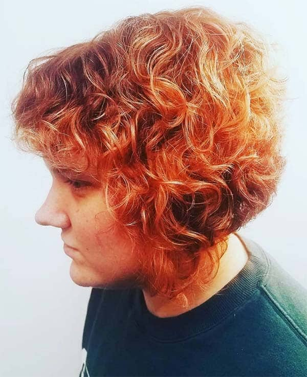 Bouncy Trendy Bob - Short Curly Hair Styles For Women