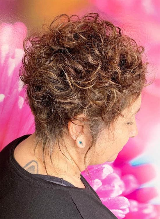 Boyish Pixie - Short Curly Hair Styles For Women