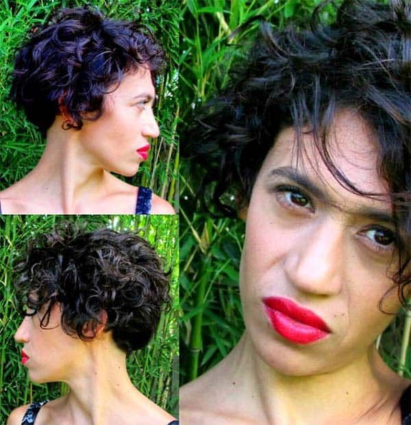 Brushed out and Cute - Short Curly Hair Styles For Women