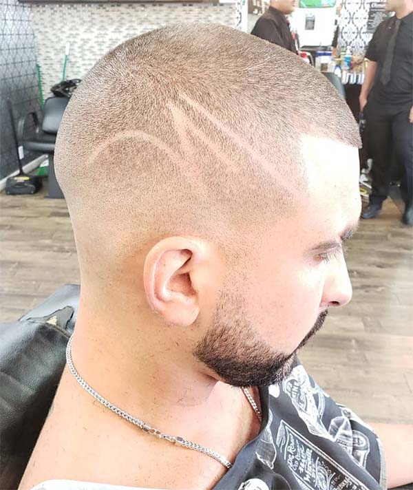 Buzz Fade + Shape Up