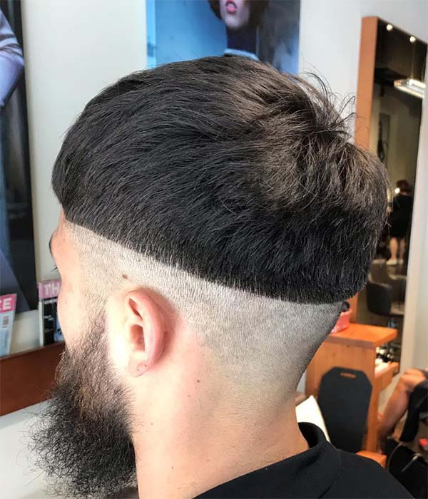 Classic Bowl Cut + Shaved Sides
