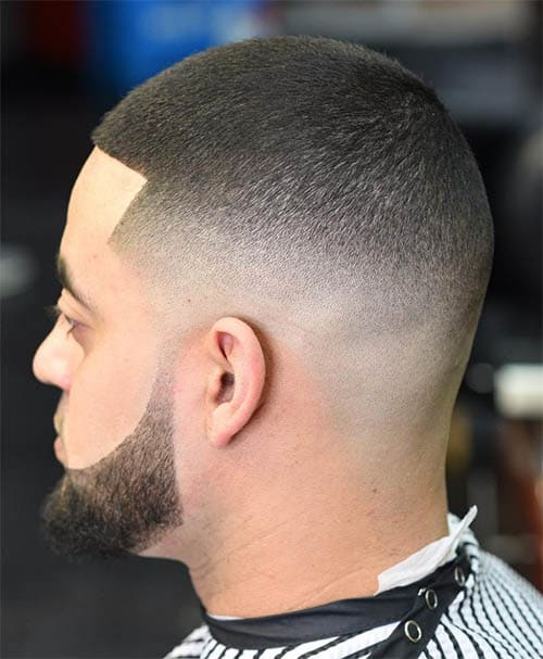 Clean Buzz Hairstyle