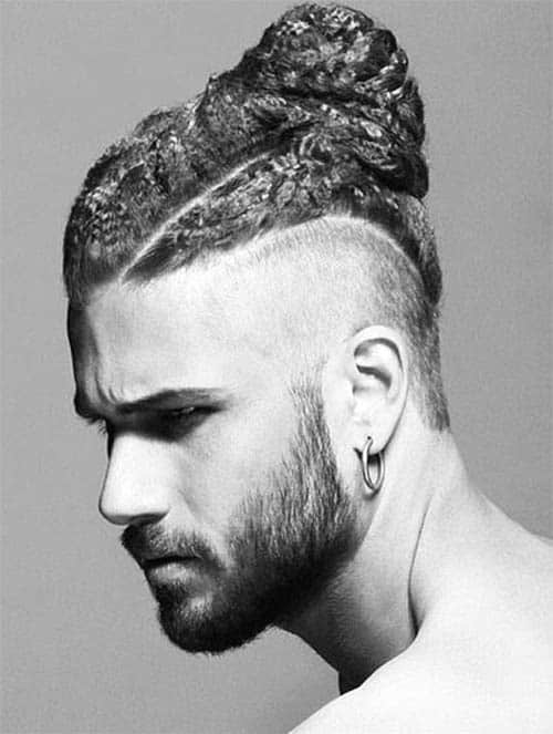 Faux Hawk - Best Man Bun Hairstyles