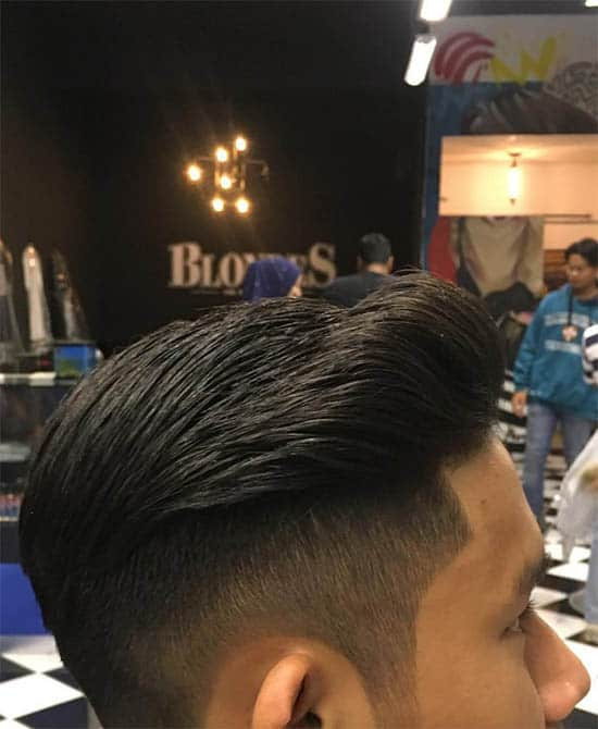 Filled Fade Long Top