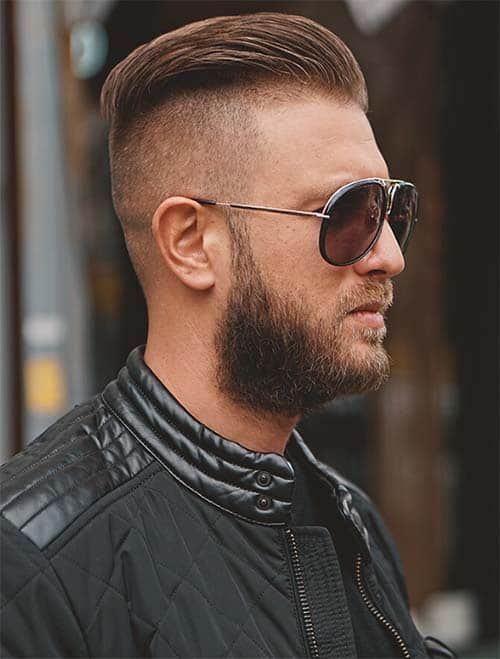 High And Tight Drop Fade Haircut