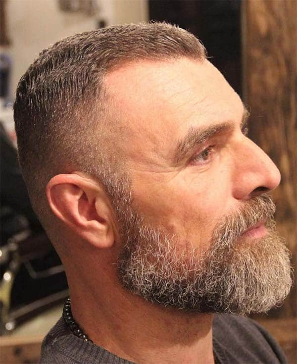 High And Tight Haircut For Mature Men