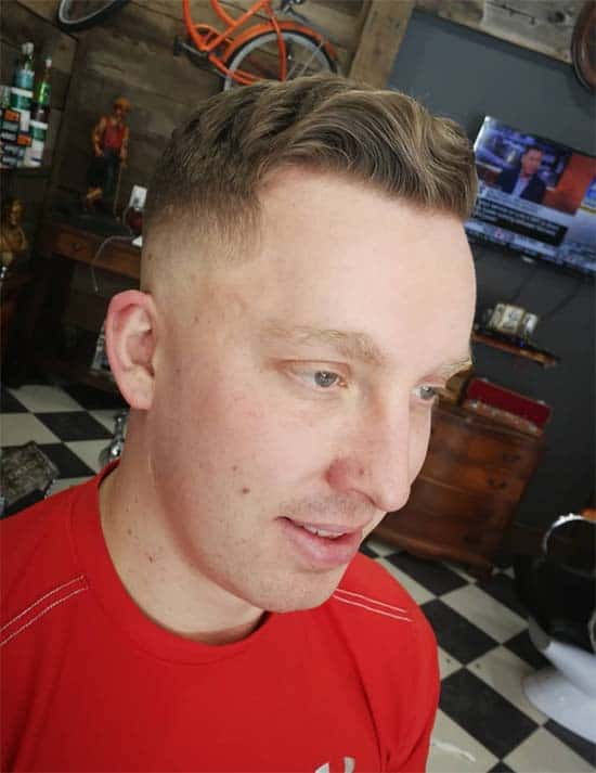High And Tight Haircut + High Waves