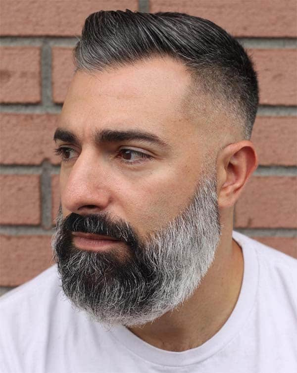 High And Tight With Beard