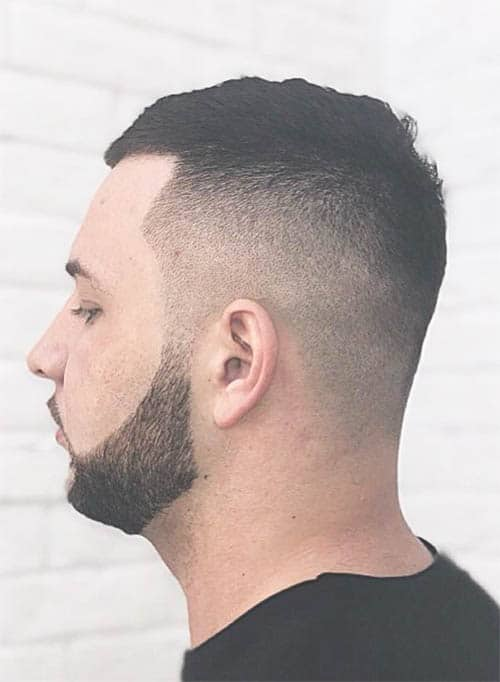High Fade with Beard
