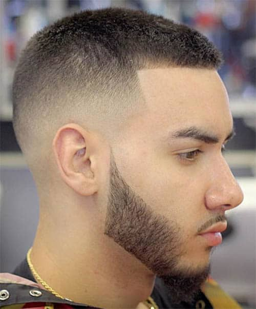 High Fade with Part - Best Crew Cut Hairstyles