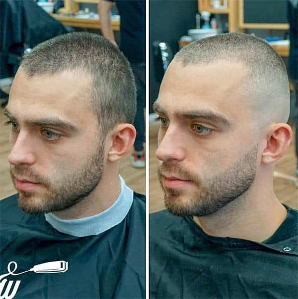 High and Tight Buzz Haircuts For Men