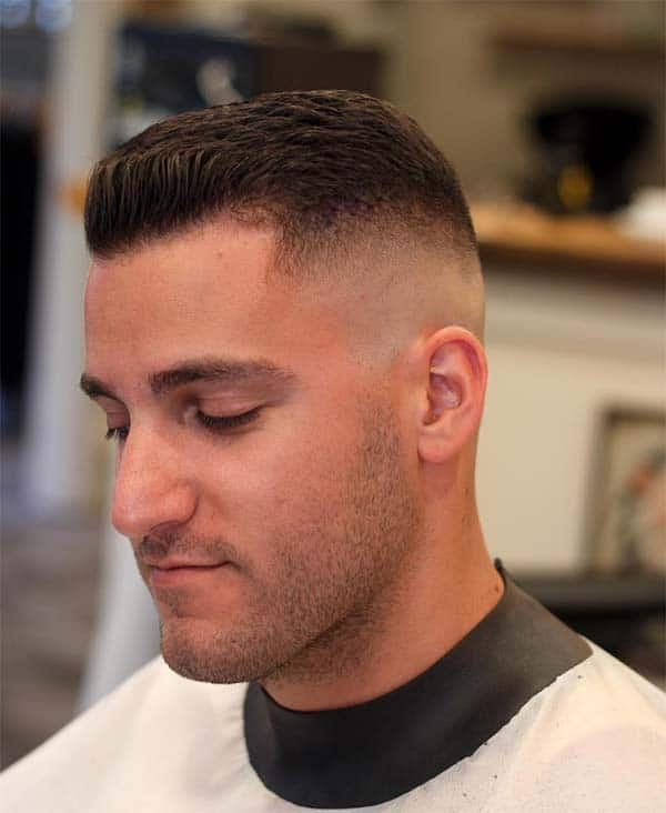 Long High And Tight Haircut