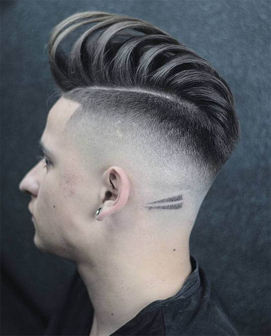 Long Pompadour + Part + Design