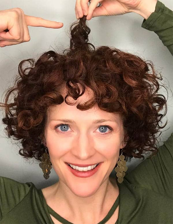 Lots of Curls - Short Curly Hair Styles For Women
