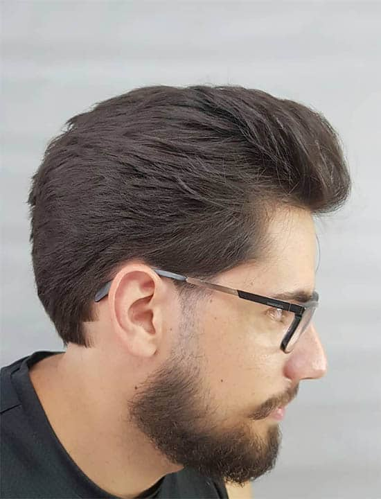 Low Fade Sweepback Best Haircuts For Men