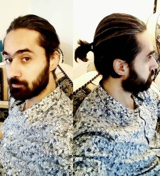 Low Man Bun - Best Man Bun Hairstyles