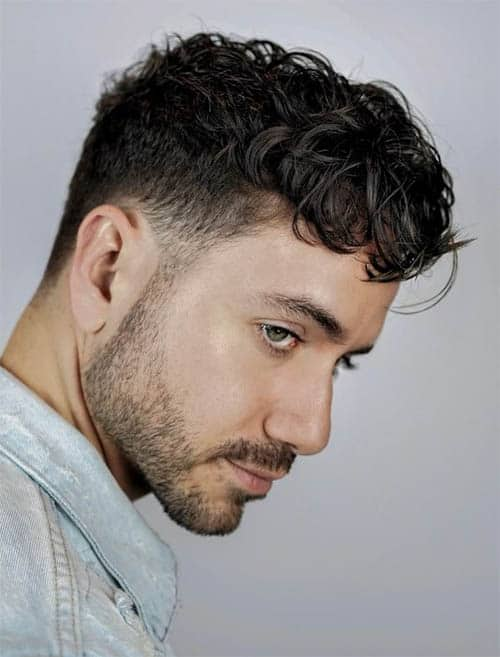 Modern Curl - Best Haircuts For Men With Thick