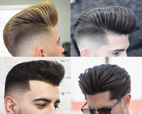 Pompadour Haircuts For Men