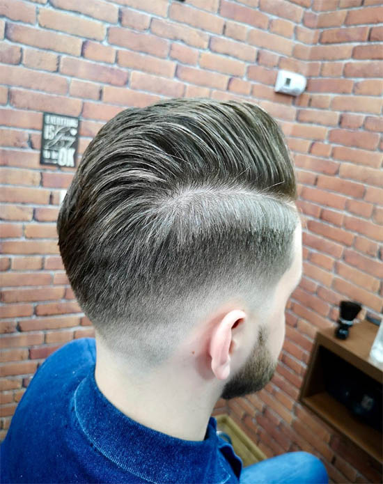 Pompadour + Hard Part