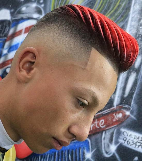 Quiff - Best SkinBald Fade Haircut