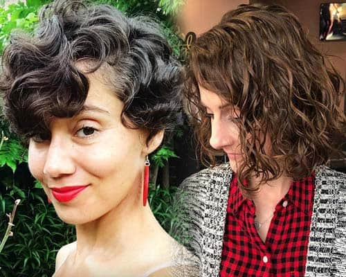 47 Stylish Short Curly Hair Styles For Women To Try Out 2019
