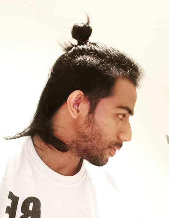 Short Man Bun - Best Man Bun Hairstyles
