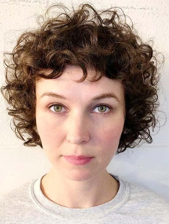 Short Shaggy Curls - Short Curly Hair Styles For Women