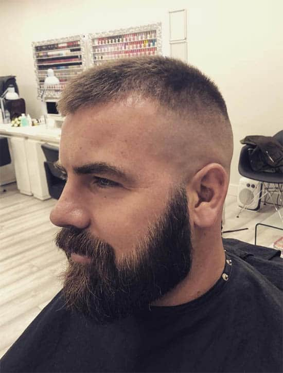 Skin Fade Short with Beard