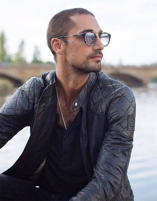 Slicked Back - Best Buzz Haircuts For Men