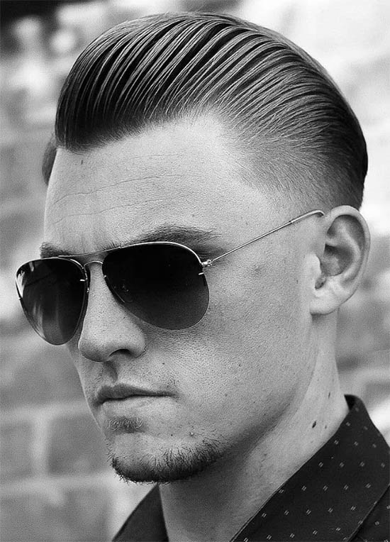Slicked Back - Best Skin Bald Fade Haircut