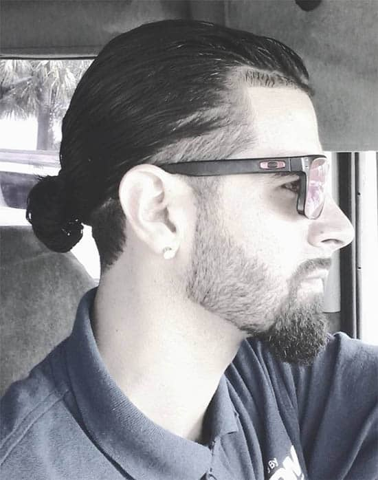 Spiked Man Bun - Best Man Bun Hairstyles