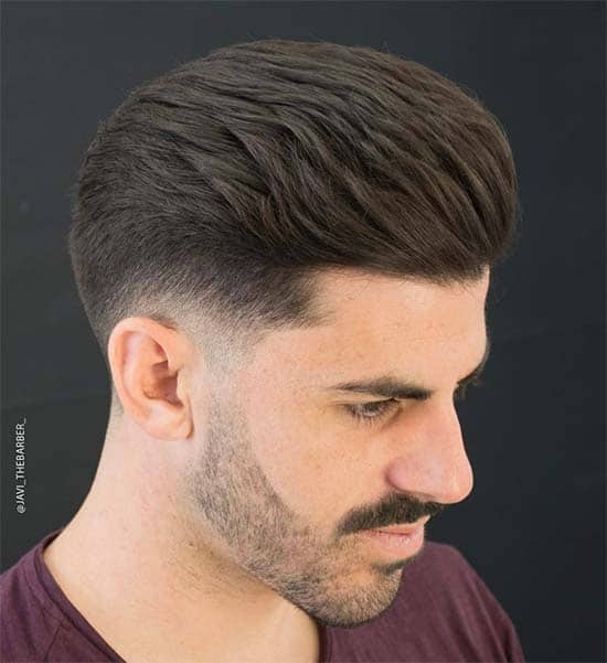 Taper Fade + Long Top