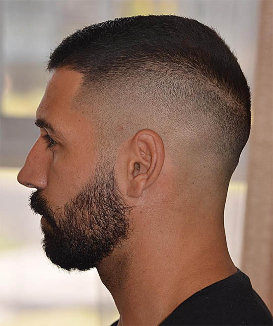 Textured Low Fade - Best Buzz Haircuts For Men