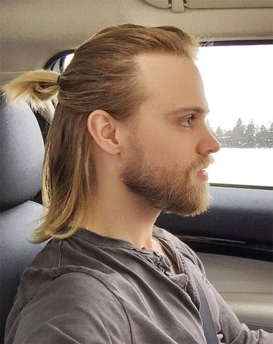 The Blonde Inspiration - Best Man Bun Hairstyles
