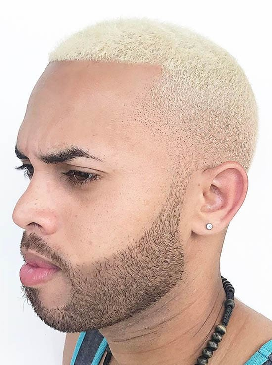 The Blonde Look - Best Buzz Haircuts For Men