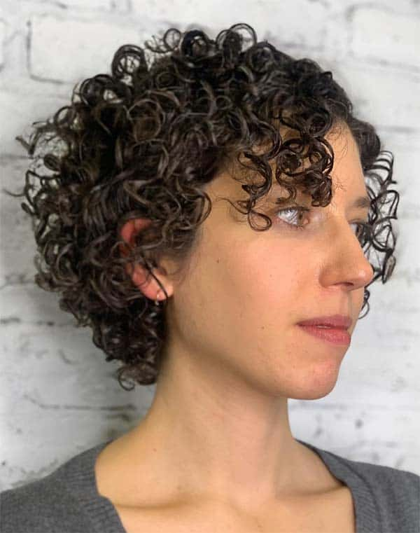 Undercut Curls - Short Curly Hair Styles For Women