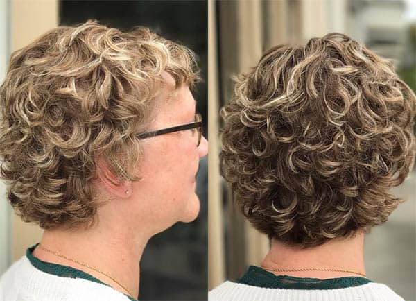 Vintage Curls - Short Curly Hair Styles For Women