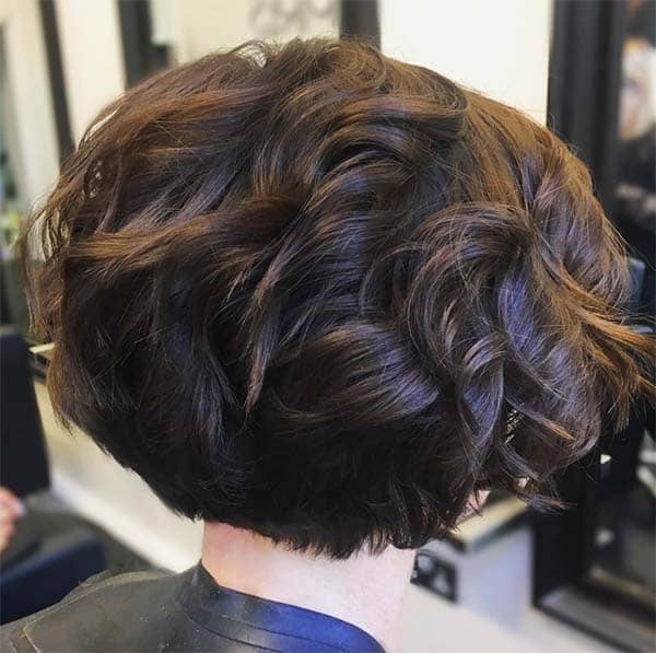 Voluminous Bob - Short Curly Hair Styles For Women