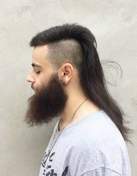 Mullet Touch Up