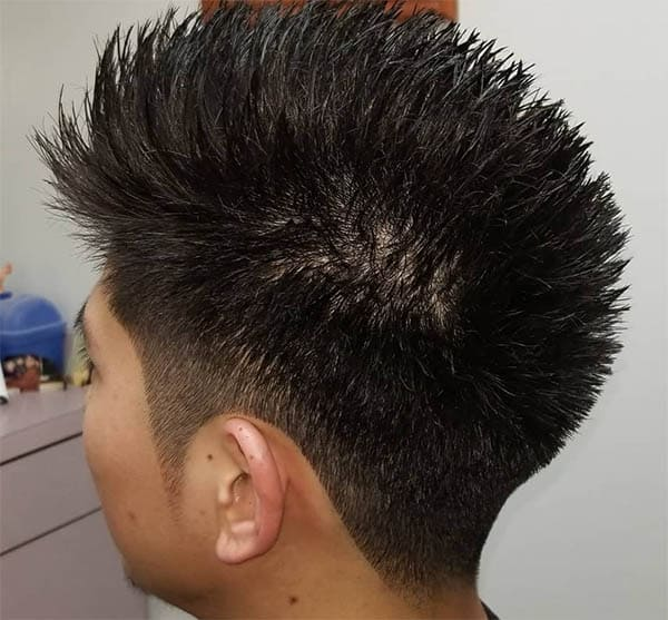Recreated Mohawk