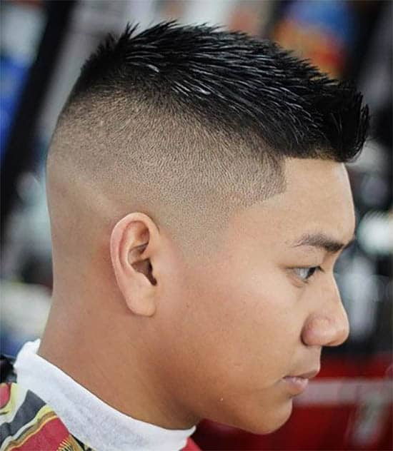Asian Spiky Hair