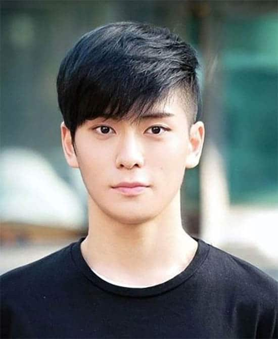 Fringe Asian Hairstyle