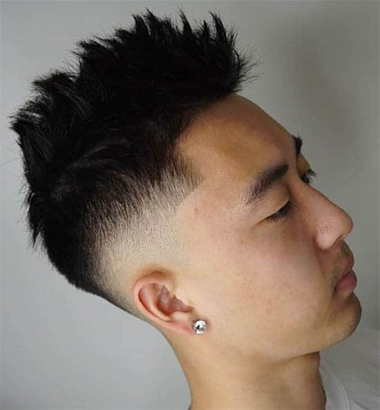 High Spike Pompadour