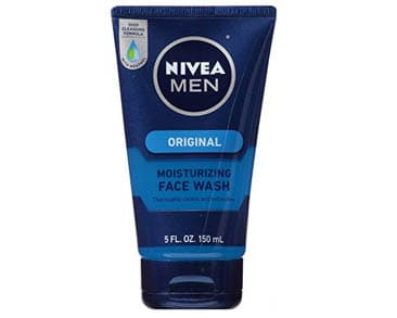 Nivea Men Moisturizing Face Wash