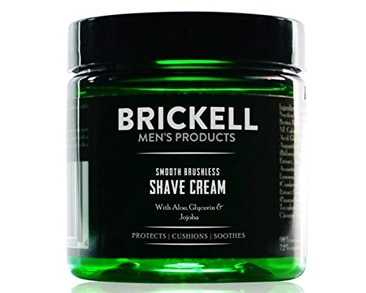 Brickell Men's Smooth Brushless Shave Cream
